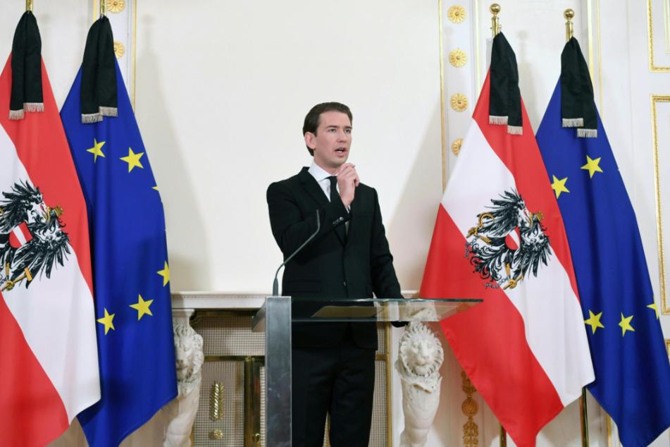 Österreichs Kanzler Sebastian Kurz (34).