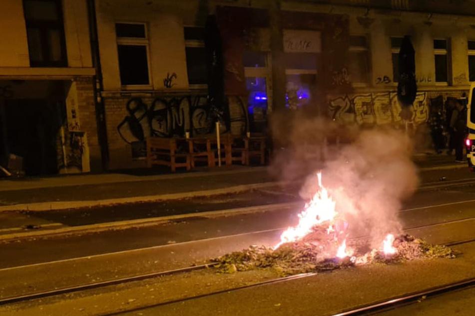 Keine Krawalle: Leipziger Demo friedlich beendet, aber nächtliche Einsätze in Connewitz