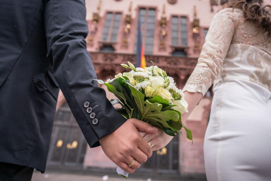 2019 gab es 86.400 Hochzeiten in NRW (Archivbild).