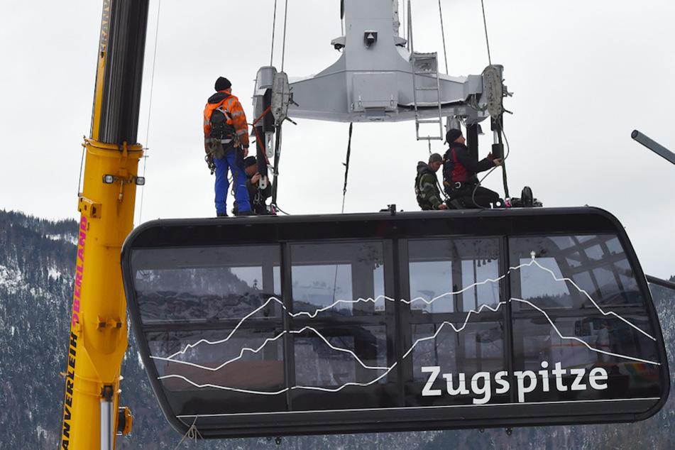 Bauarbeiten auf Deutschlands höchstem Berg: Zugspitzbahn rüstet sich für den nächsten Winter