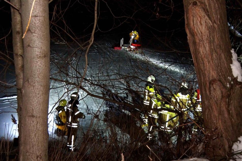 Alle vier Personen konnten gerettet werden.