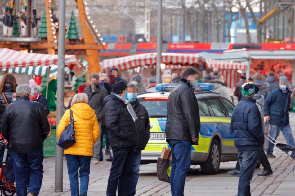 Chemnitz: Polizei erwischt mehrere Maskenmuffel in Chemnitzer Innenstadt: Anzeige!