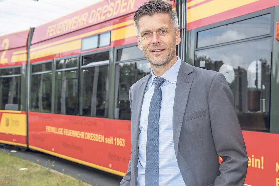 """""""Mit einer überschaubaren Summe viel erreichen"""": DVB-Vorstand Lars Seiffert (51)."""