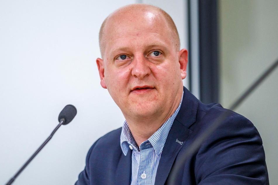 Sachsens SPD-Generalsekretär Henning Homann (41).