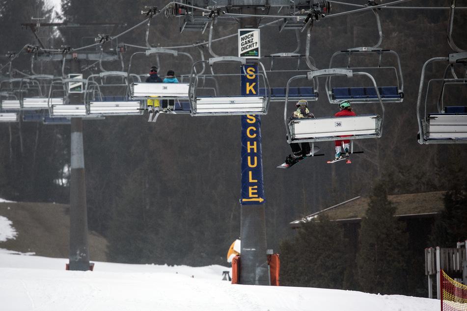 Skilifte in Winterberg.