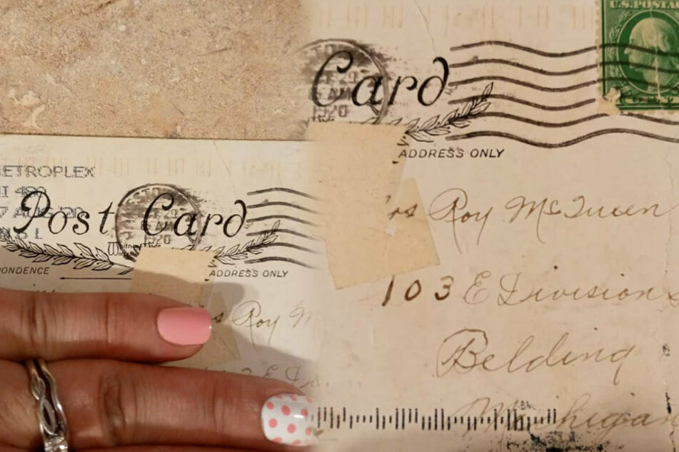Happy Halloween from 1920! Woman gets 100-year-old postcard in the mail