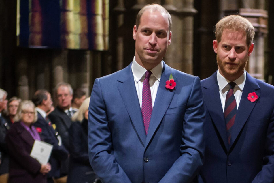 Are the Duke of Cambridge (38, l.) and the Duke of Sussex (36, r.) reconnecting?