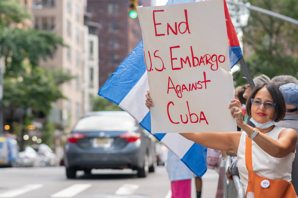 UN votes for 29th time calling for US to end Cuba embargo
