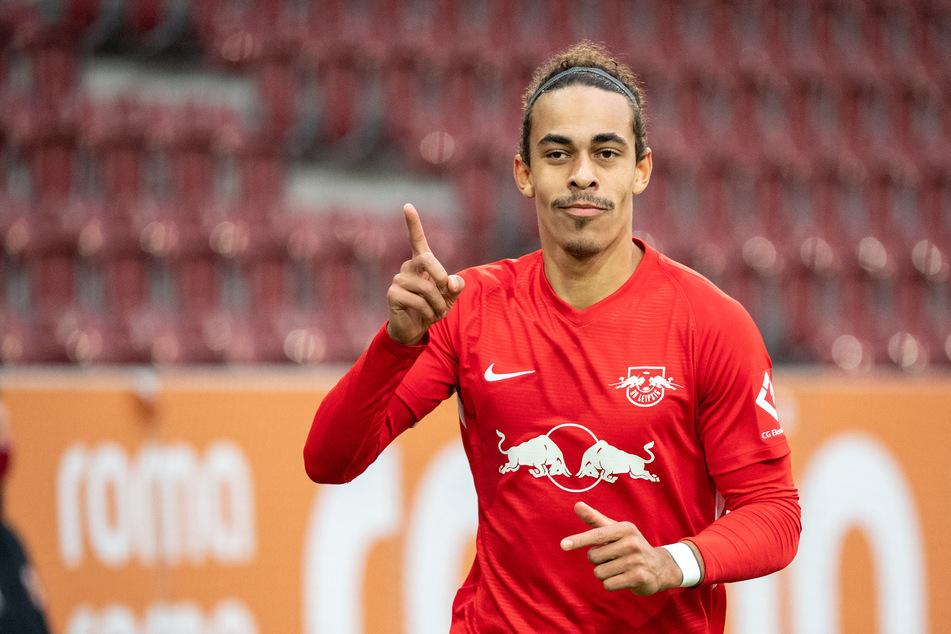 Yussuf Poulsen wurde in der 66. Minute für Emil Forsberg eingewechselt und erzielte mit der ersten Ballberührung traumhaft das 2:0 für die Sachsen.