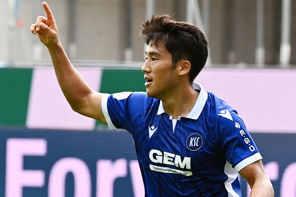 Ex-Kiezkicker Kyoung-rok Choi (26) hat sich beim Karlsruher SC zu einem Top-Spieler entwickelt. Am Samstag trifft er auf seinen Ex-Verein.