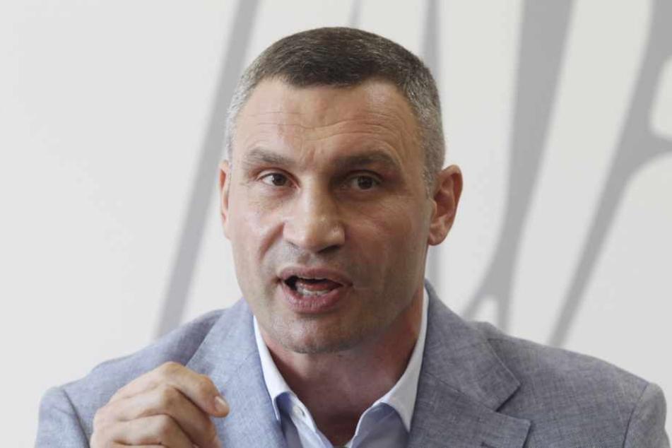 Vitali Klitschko muss die Corona-Krise als Bürgermeister von Kiew meistern.