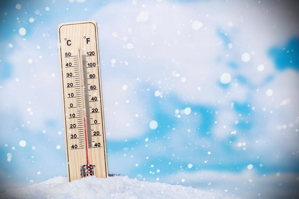 Der Winter hat uns im Griff und die Temperaturen sinken.