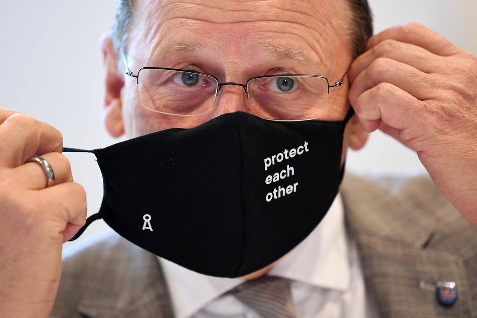 Nimmt Bodo Ramelow den Mundschutz bald gänzlich ab?