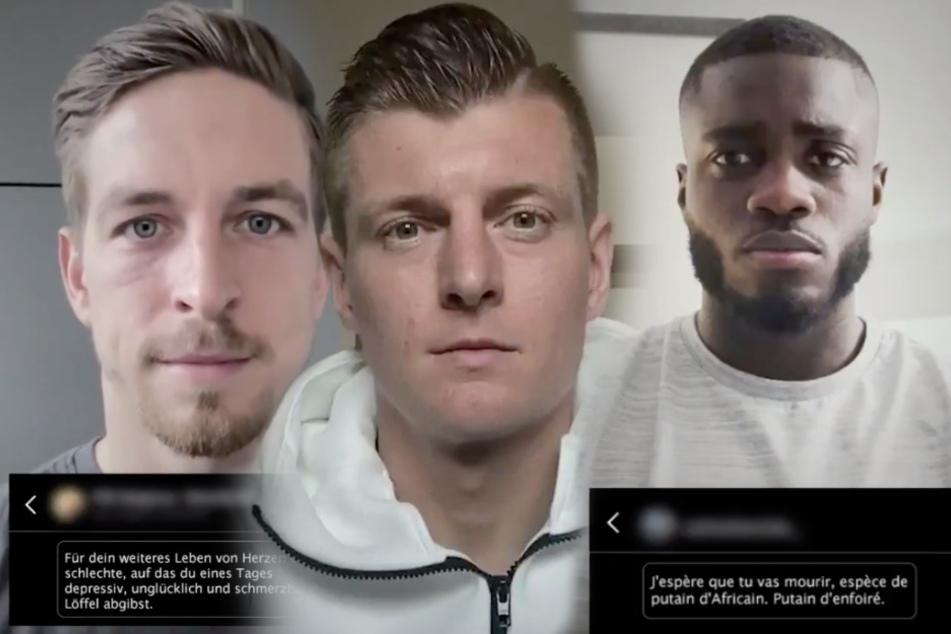"""""""Ich hoffe du stirbst"""": Fußballer wehren sich gegen anonymen Hass"""