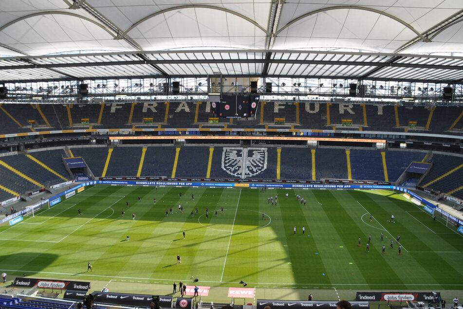 Beim Eintracht-Spiel gegen AS Saint-Étienne sind nun doch 10.000 Zuschauer erlaubt (Symbolfoto).