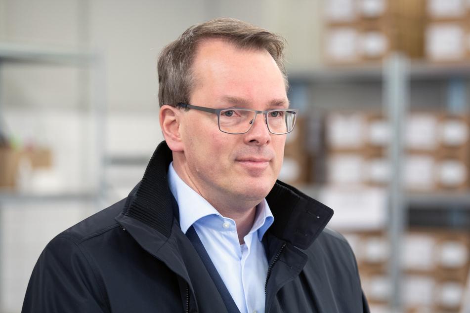 Der stellvertretende Vorstandschef der Kassenärztlichen Vereinigung Brandenburg (KVBB), Holger Rostek, kündigt die Bewerbung als Pilotland an.