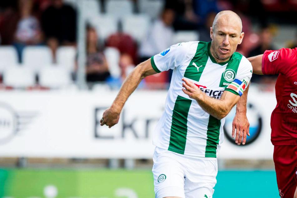 Arjen Robben im Freudentaumel: Erster Treffer für Groningen seit 6707 Tagen!