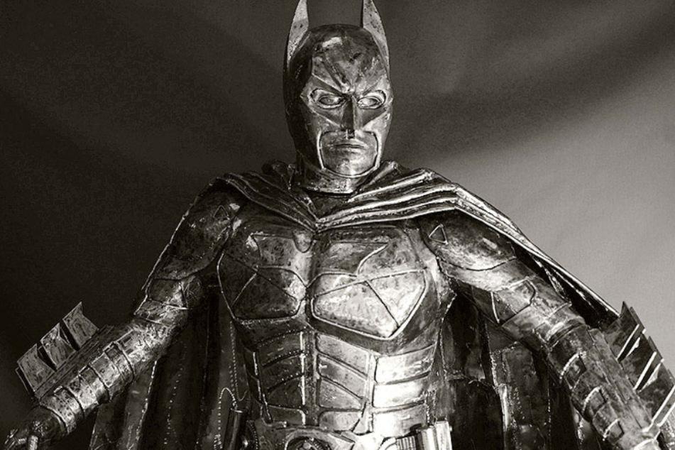 Batman - er ist eigentlich nicht der Mann aus Stahl.