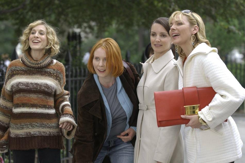The original cast: Sarah Jessica Parker (55, from left), Cynthia Nixon (54), Kristin Davis (55), and Kim Cattrall (64).