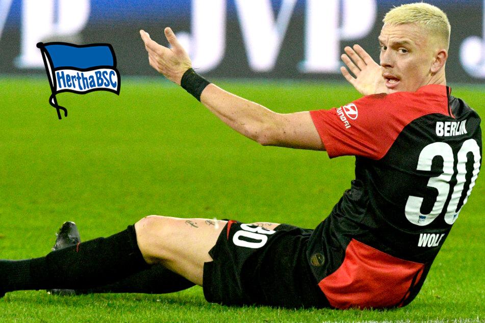War's das? Wohl keine Einsätze mehr für Wolf bei Hertha