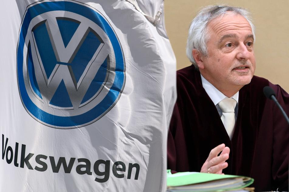 Richter haben entschieden: VW muss noch 1000 Dieselfahrern eine Erstattung zahlen. (Bildmontage)