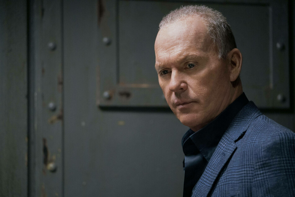 Michael Keaton in his role as Rembrandt in the 2021 film, The Protege.