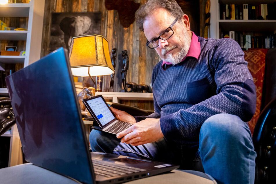 Der CDU-Politiker Frank Heinrich (56) wird derzeit mit Spam-Mails und Anrufen überschüttet.