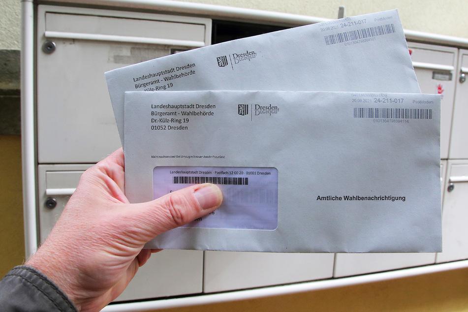 Trotz falscher Angaben in den amtlichen Wahlbenachrichtigungen von bis zu 12.500 Dresdnern bleiben diese gültig. Die Bürger bekommen trotzdem erneut Post.