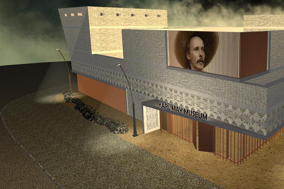 Baukosten halbiert: Neues Karl-May-Museum muss erheblich abspecken
