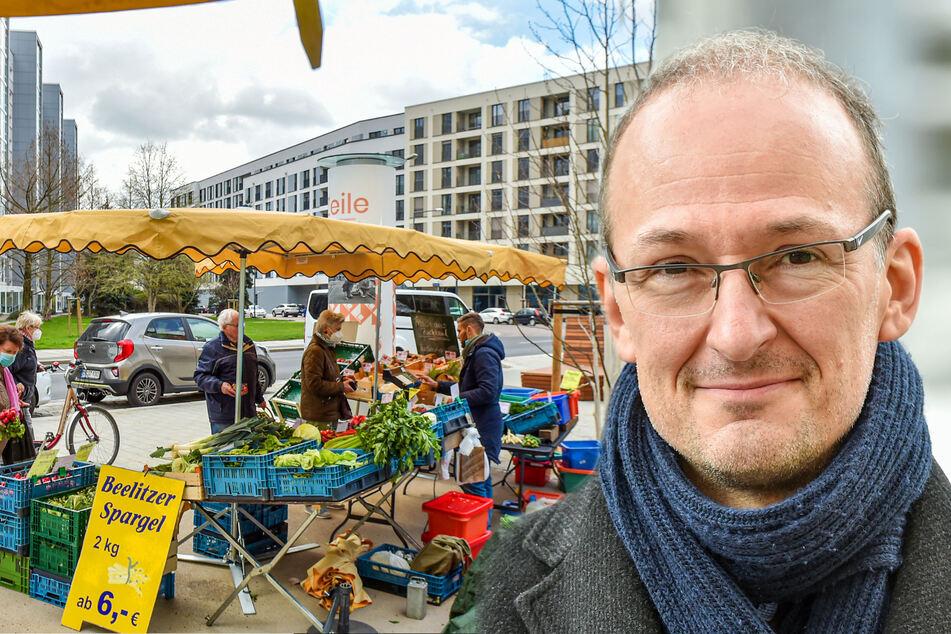 Mittlerweile zwölf Wochenmärkte in Dresden: Doch es sollen noch mehr werden