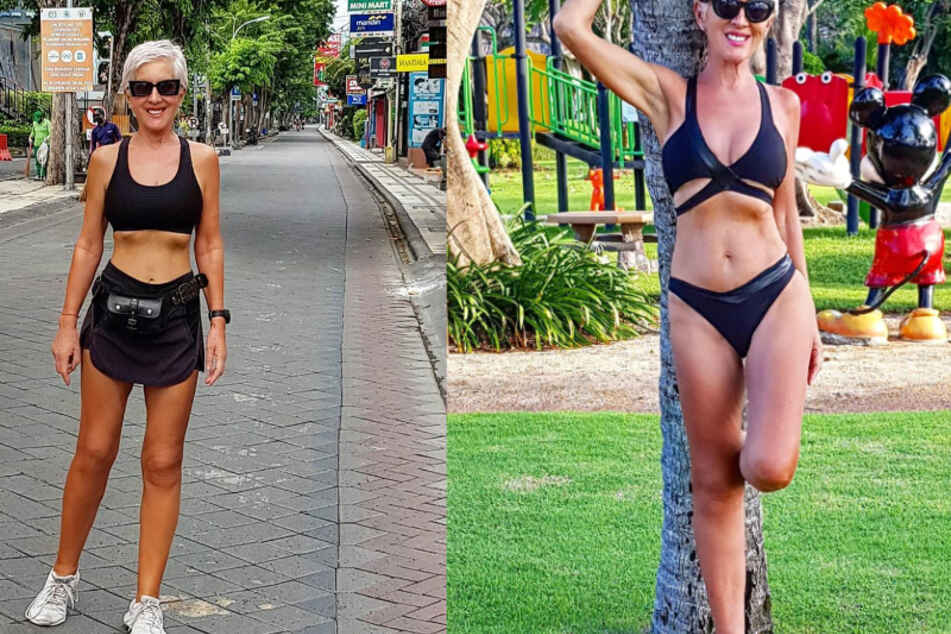 Ihr Alter sieht man ihr nicht an: Dieses Fitness-Model wird mit Sex-Anfragen bombardiert