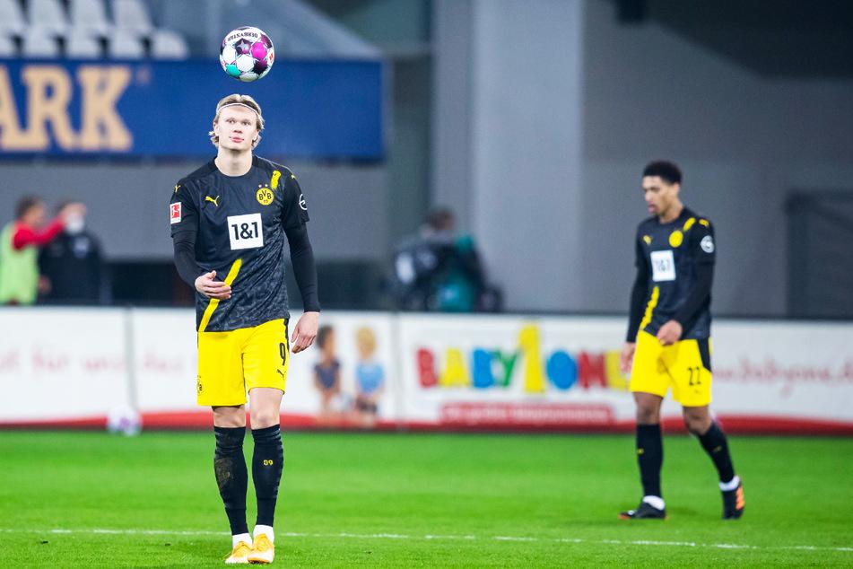Der BVB verlässt sich zu sehr auf Erling Haaland (20), der alleine aber auch nicht alle Schwächen der Dortmunder überdecken kann.