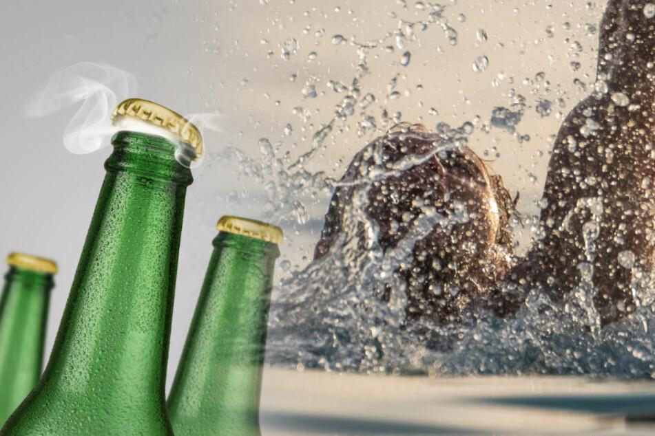 Zwei angetrunkene Schwimmer fast ertrunken - DLRG warnt!