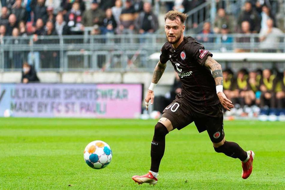 Marcel Hartel (25) überzeugt beim FC St. Pauli seit seiner Ankunft mit Laufstärke und Ballgefühl.