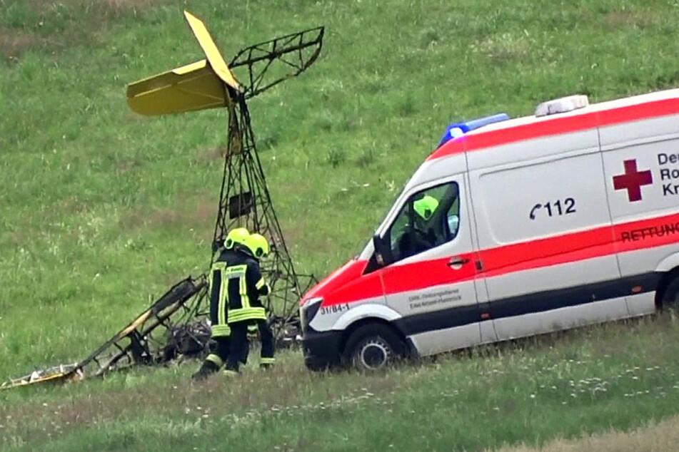 Pilot von Ultraleichtflugzeug stirbt bei Bruchlandung
