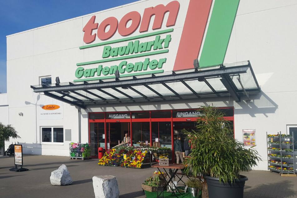Der toom-Baumarkt in Freital.