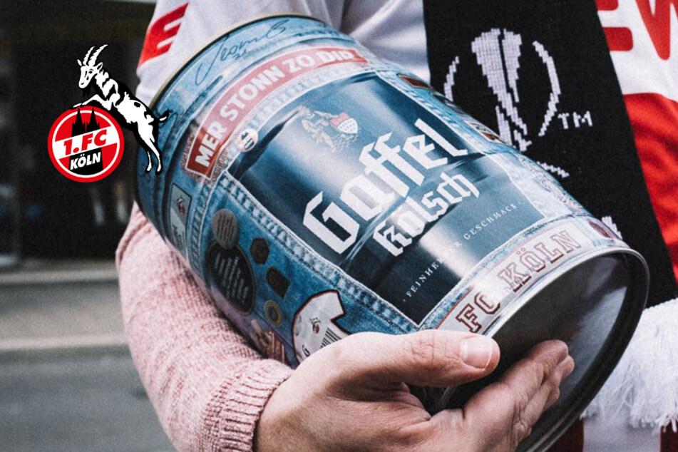 Gaffel plant besondere Bier-Aktion für durstige FC-Fans
