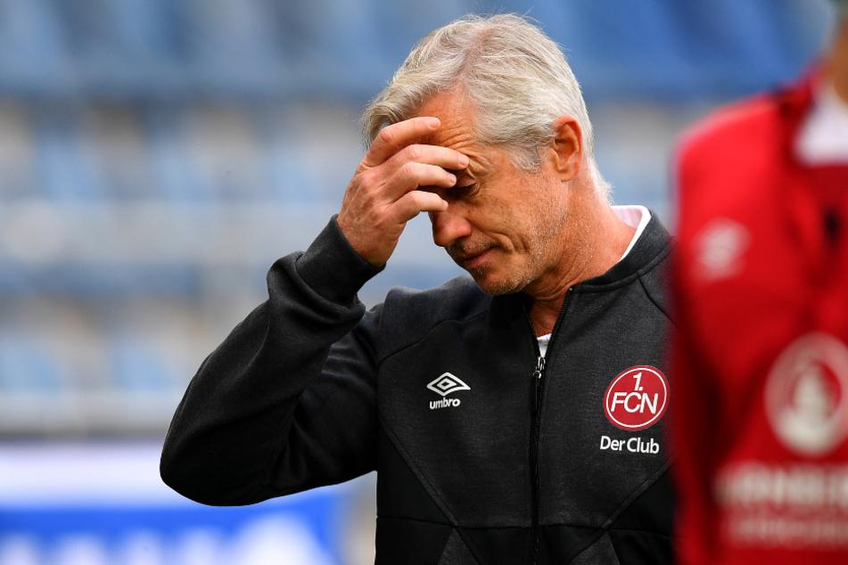 Jens Keller (49) muss den 1. FC Nürnberg verlassen.