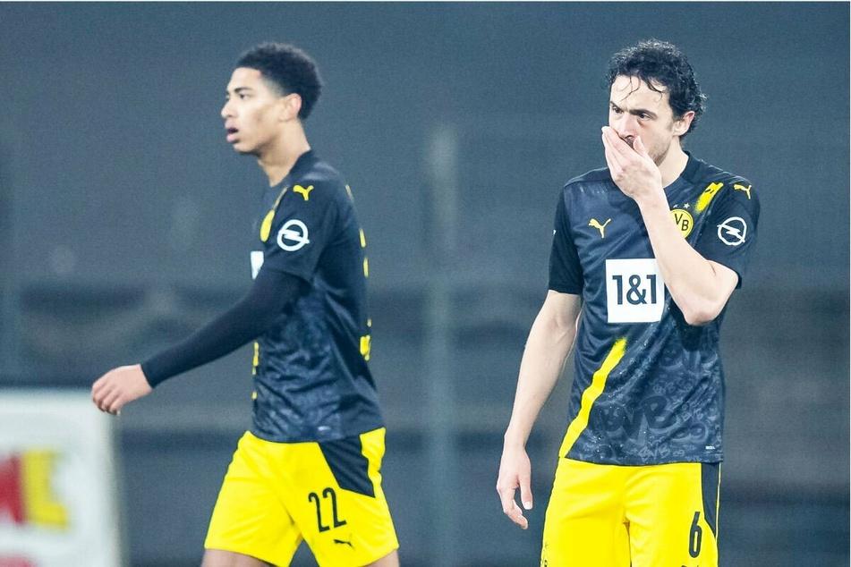 Die Mittelfeldzentrale des BVB: Thomas Delaney (29, r.) und Jude Bellingham (17) verleihen dem Dortmunder Spiel aktuell zu wenig Struktur.