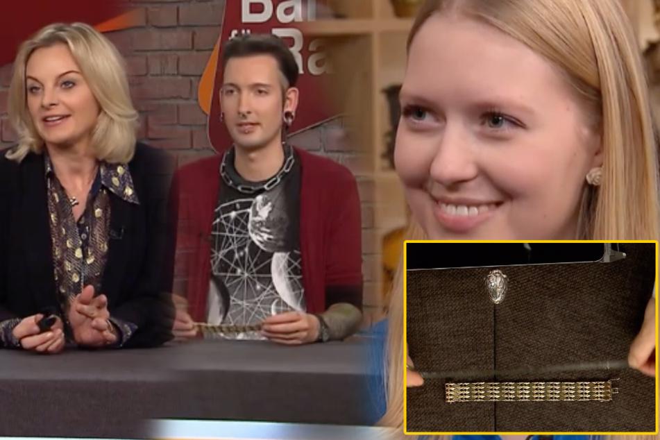 """Gold-Armband bei """"Bares für Rares"""": Fabian Kahl von Susanne Steiger überrascht!"""