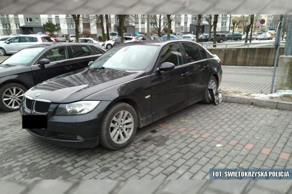 Auf diesen BMW hatte der Autodieb (21) es abgesehen.