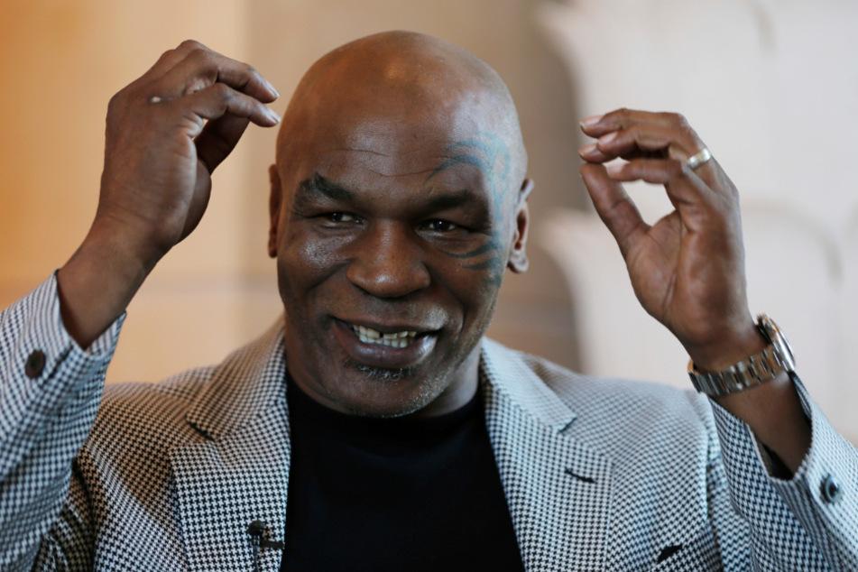 """""""Iron Mike"""" Tyson (54) steigt wieder in den Boxring."""