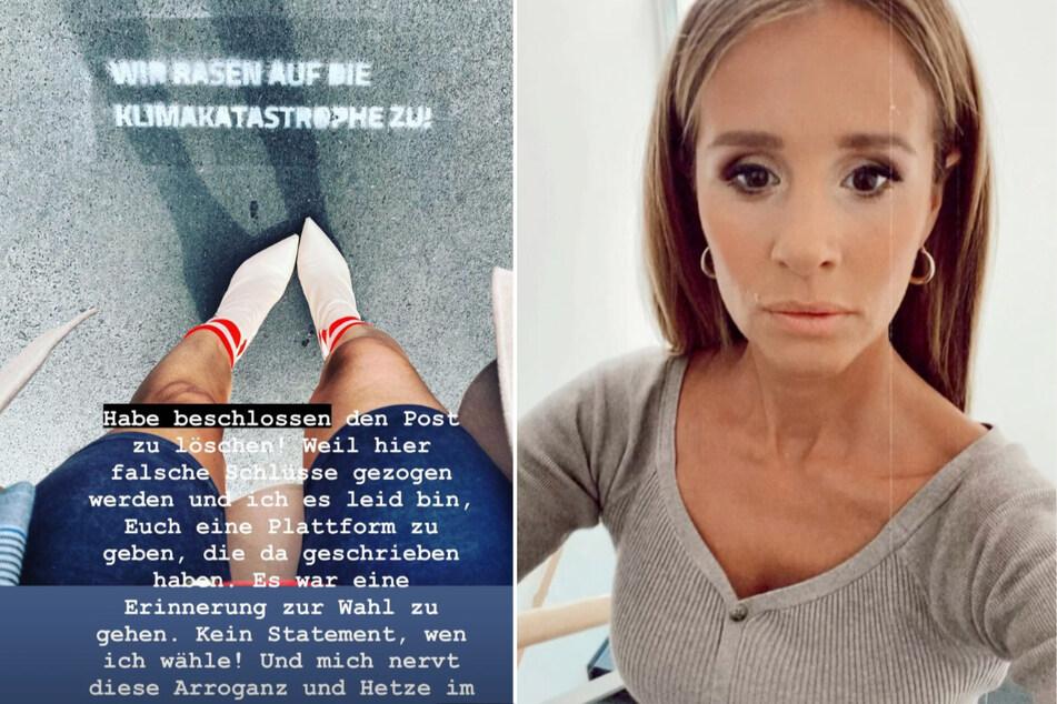 Mit einem Instagram-Post erinnerte Mareile Höppner (44) ihre Community daran, zur Wahl zu gehen.