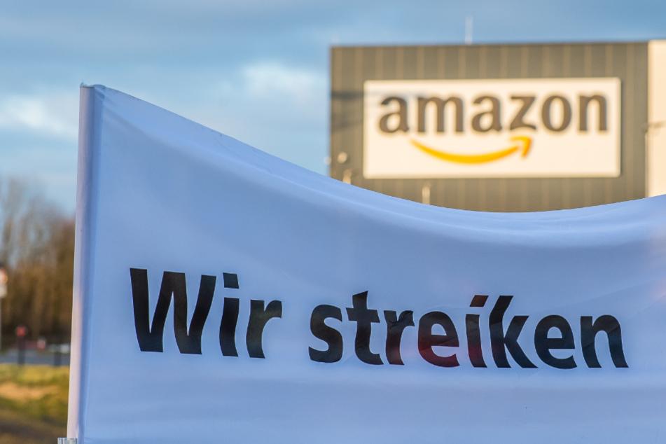 Streik bei Amazon: Beschäftigte in Bad Hersfeld legen Arbeit nieder