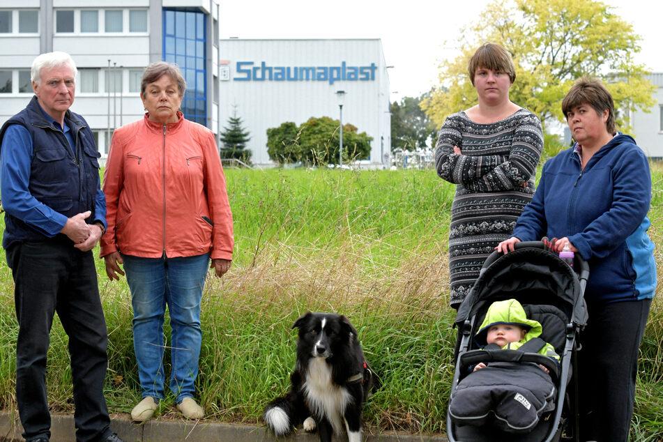 """Dicke Luft in Nossen: """"Schaumaplast"""" lässt Nachbarn schäumen"""