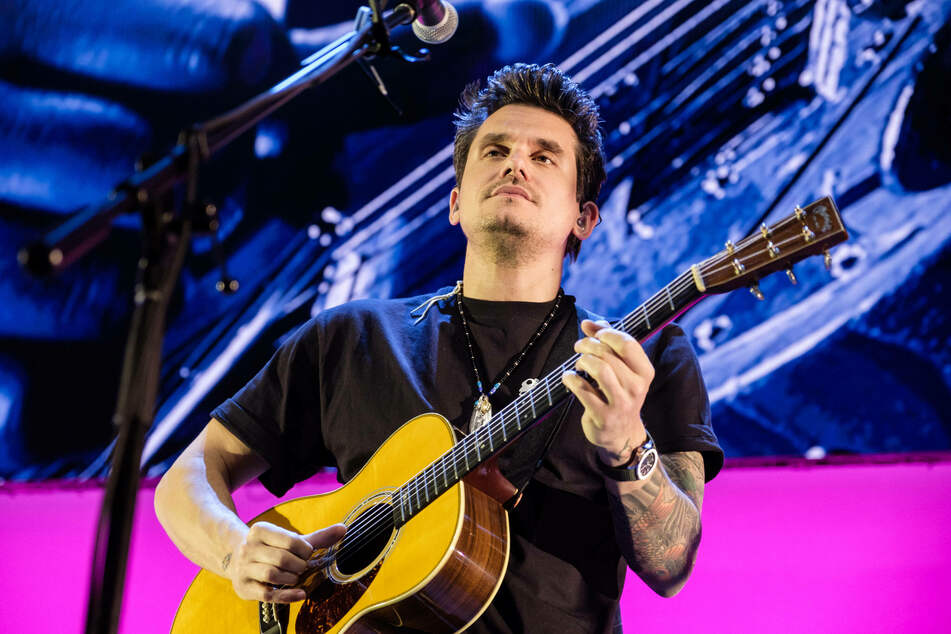 John Mayer's eight full-length album in a tribute to an '80s soft-rock vibe.