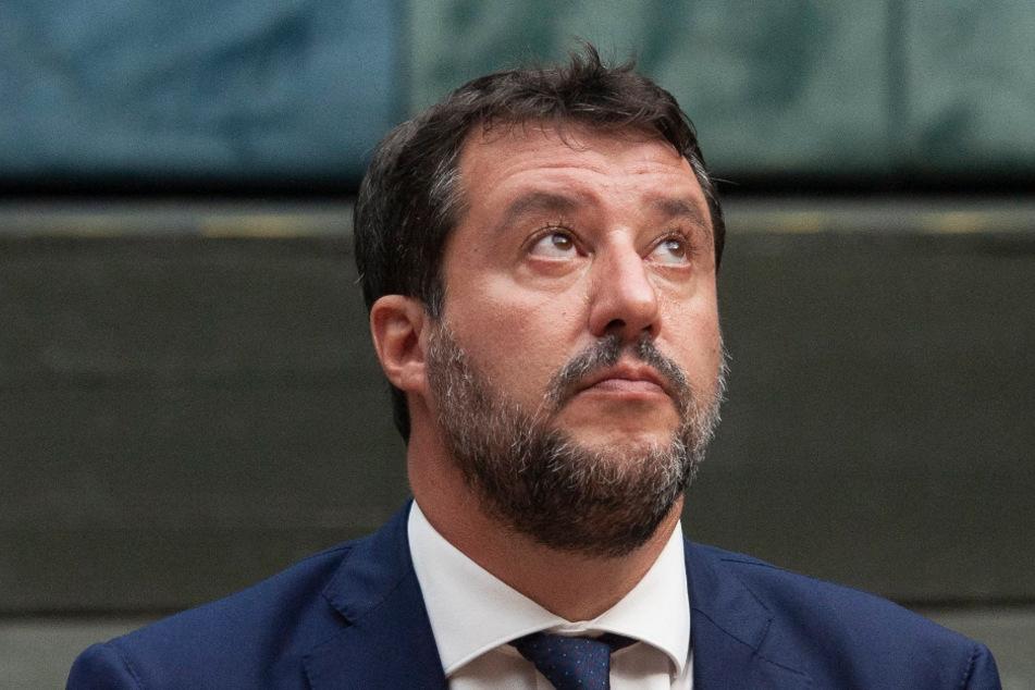 Oppositionsführer Matteo Salvini (47) von der rechten Lega.