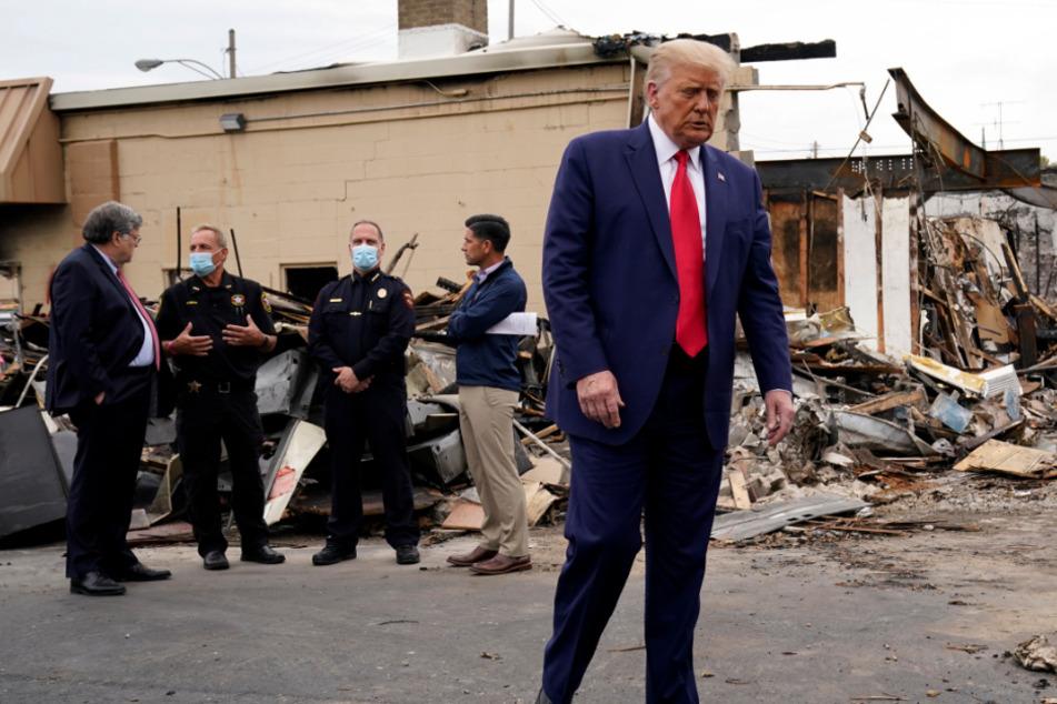 Nach Schüssen auf Schwarzen: Donald Trump spricht von anti-amerikanischen Protesten!