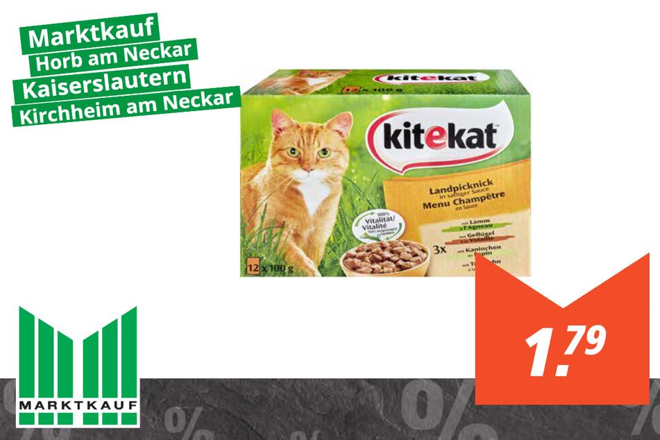Kitekat Katzenfutter für 1,79 Euro