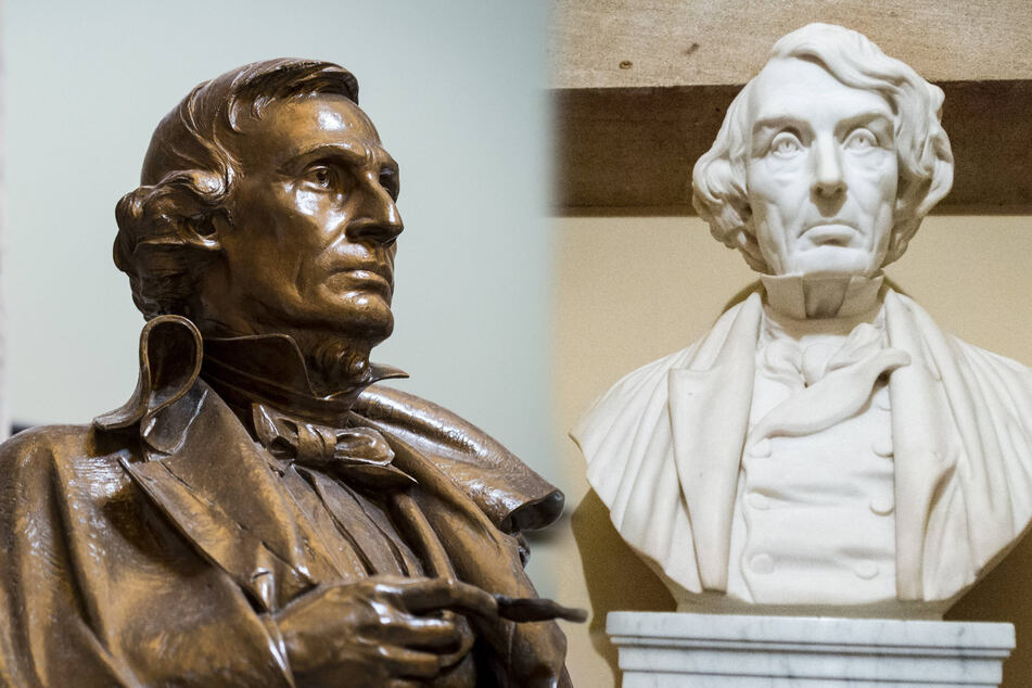 US House passes bill to remove Confederate statues from Capitol complex